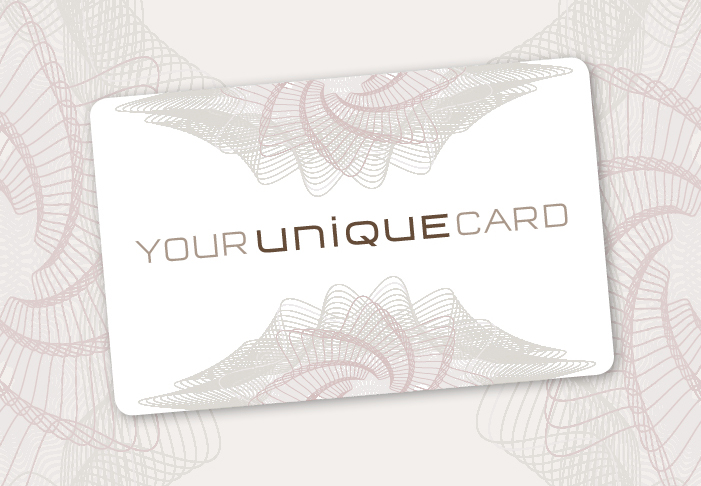 your unique card